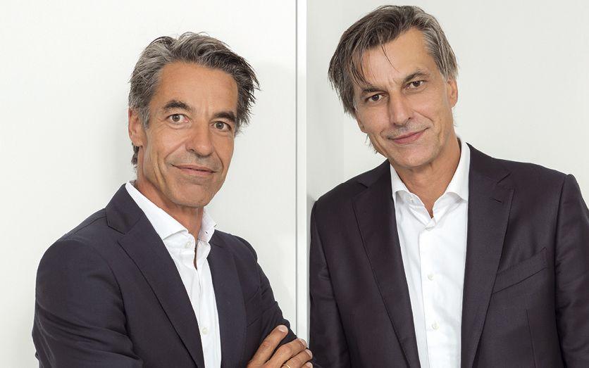 Die geschäftsführenden Gesellschafter der Unternehmensgruppe Frauenrath: Gereon und Jörg Frauenrath (v.l.) Foto: Kristina Schorn