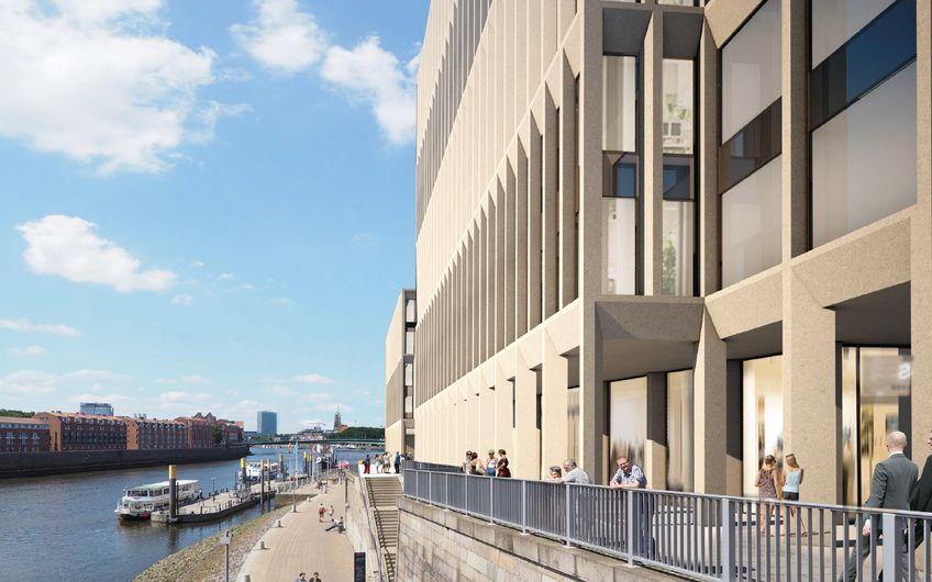 Für die Kühne + Nagel International AG realisiert HELLMICH derzeit den Büroneubau des August-Kühne-Hauses in Bremen