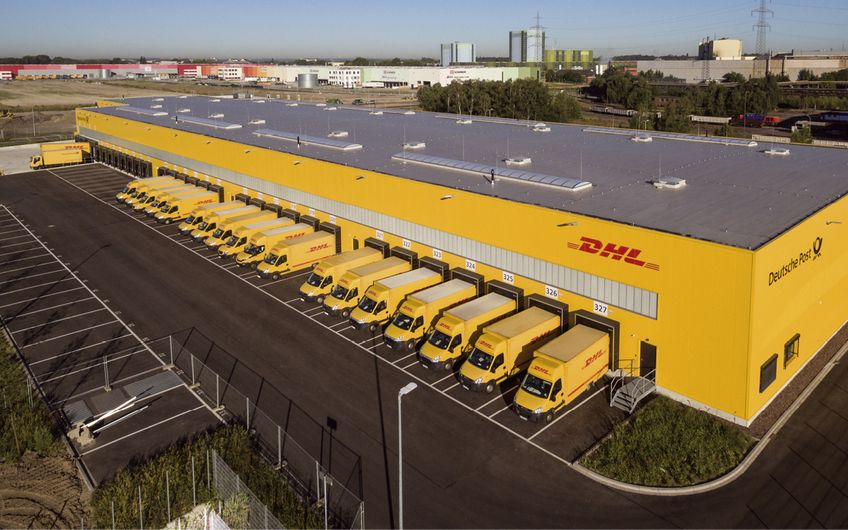 Seit 2012 hat HELLMICH 14 mechanisierte Zustellbasen für die Deutsche Post DHL Group in ganz Deutschland entwickelt und errichtet – dazu zählt dieses Objekt in Dortmund
