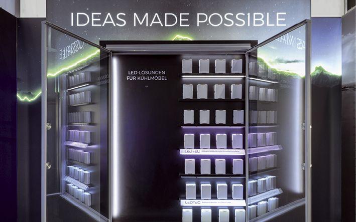Die Präsentation von Kühlmöbeln erfordert besondere Kreativität