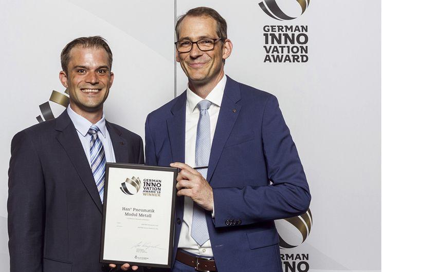 Harting: Harting mit German Innovation Award ausgezeichnet