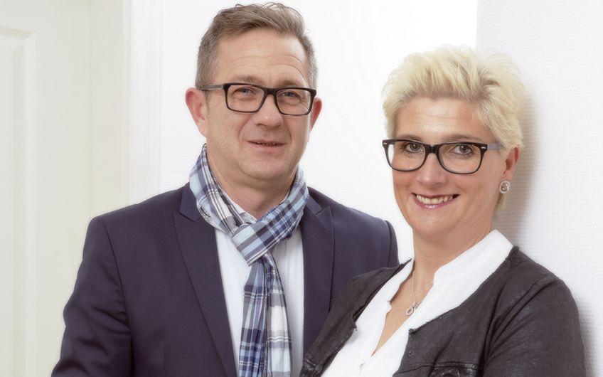 Die Inhaber und Geschäftsführer Stefan und Astrid Flügge