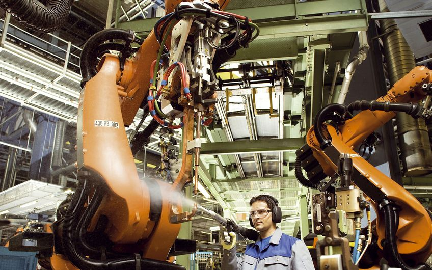 Reinigung von Produktionsanlagen mit Trockeneis Quelle: WVIS – Wirtschaftsverband für Industrieservice