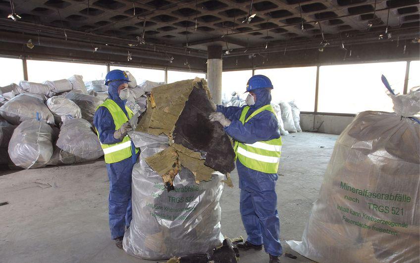 Das Thema Recycling spielt eine große Rolle Foto: Deutscher Abbruchverband