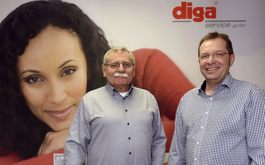 Diga Service: Mit Leidenschaft  zum Erfolg