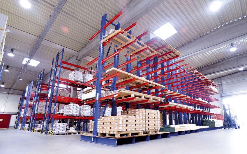 GEHRING Lagertechnik: Gut gelöst, optimal gelagert