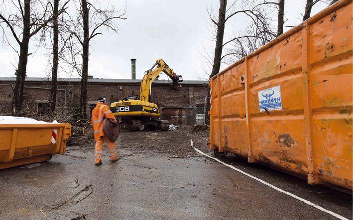 Täglich sind im Revier rund 4.000 Container von Harmuth Entsorgung im Umlauf