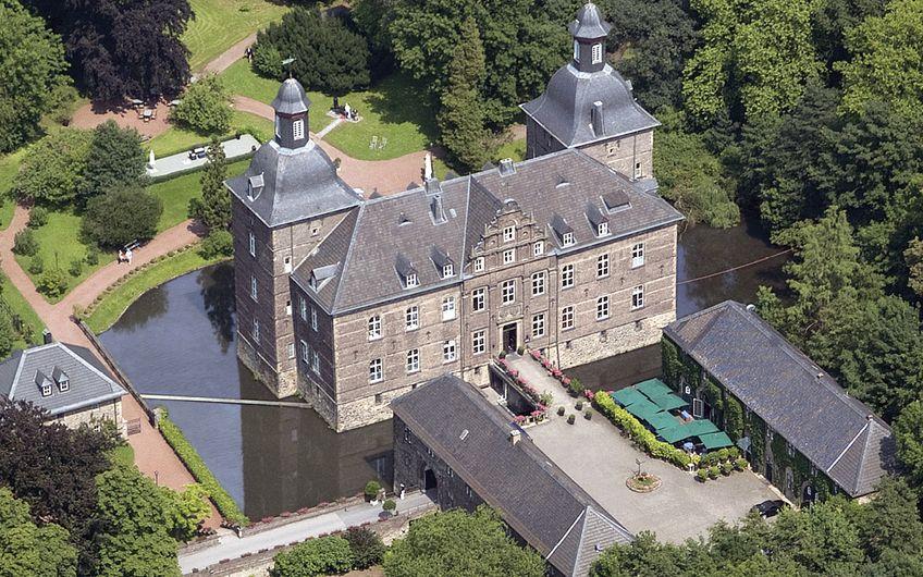 Schlosshotel Hugenpoet Essen: Willkommen auf  Schloss Hugenpoet