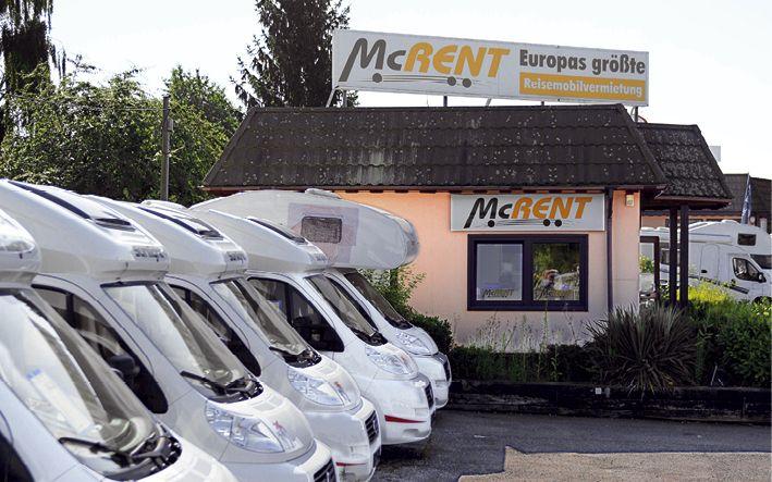 Unter der Marke McRent vermietet Thrun derzeit 107 Reisemobile verschiedener Größen