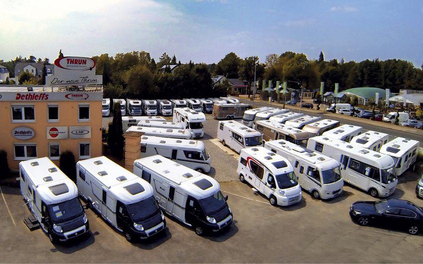 Auf rund 37.000 Quadratmeter großen Verkaufsplätzen sind die Mitarbeiter gut ausgelastet