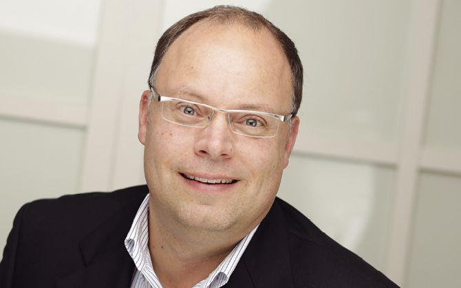 Oliver Kammann, Geschäftsführer der KHS GmbH