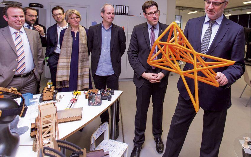wir4 - Wirtschaftsförderung für Moers, Kamp-Lintfort, Neukirchen-Vluyn und Rheinberg: wir4 - Wirtschaftsförderung : 3D-Druck im Fokus