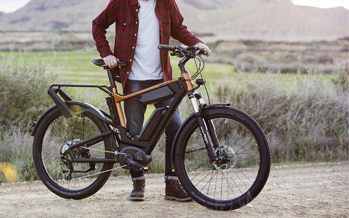 Der Händler verfügt über eine große Auswahl topmoderner E-Bikes