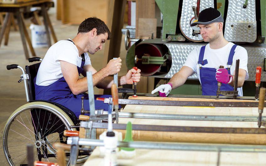 Arbeitsrecht: Schwerbehinderte Mitarbeiter