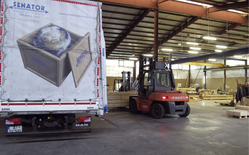 Senator International: Verpackung und Versand aus einer Hand