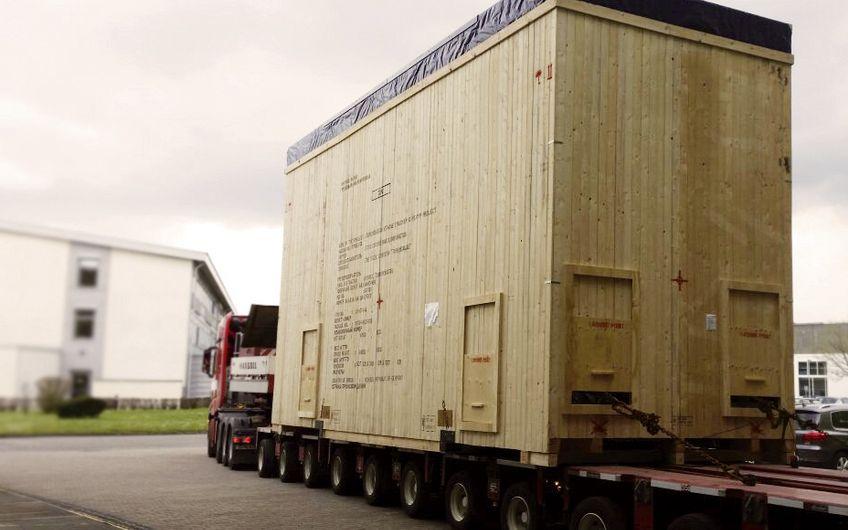 Nehring Europacking: Tonnenschweres sicher verpacken