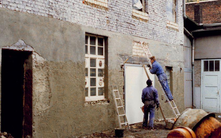 Vor 25 Jahren entstand Bredo als 2-Mann-Unternehmen in einer Herner Schreinerei.