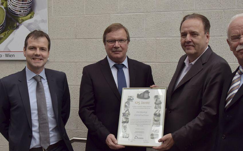 Heitkamp Construction Gruppe: Ehrung für Kraftwerksbauer