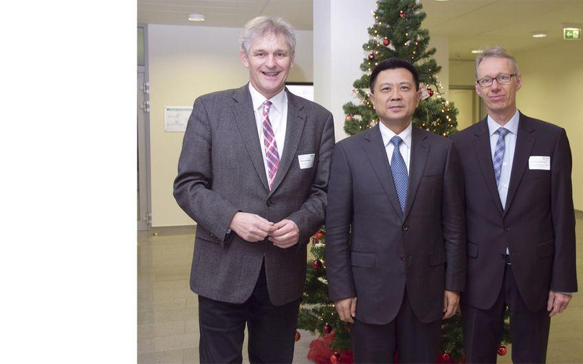 Chinesische Delegation im Kreis Unna