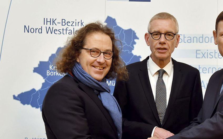 IHK Nord Westfalen: Führungswechsel bei IHK Nord Westfalen