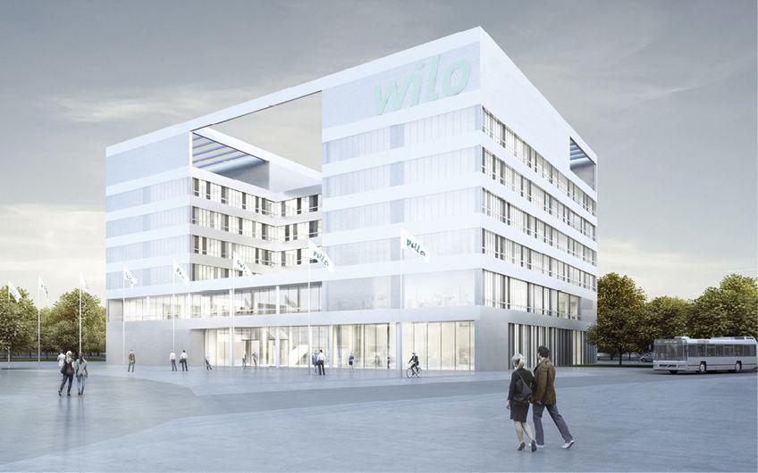 Das neue Office steht für mehr Transparenz (Quelle: Wilo SE)