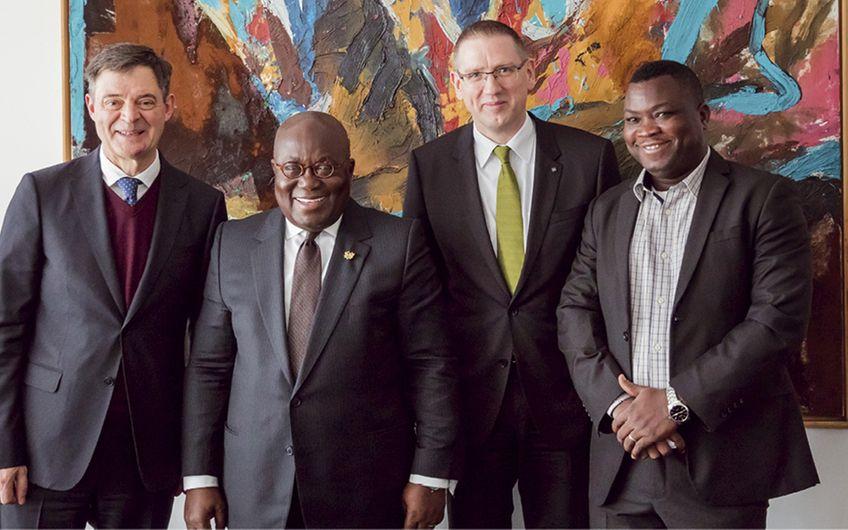 Dortmunder Pumpen helfen Afrika