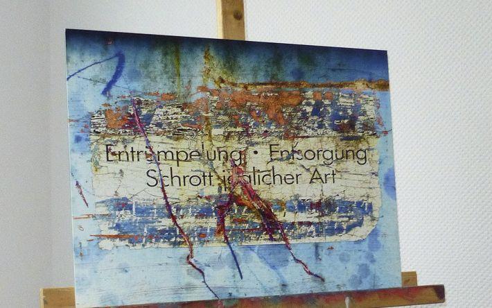 Künstler J. Mico Schmitt geht den Spuren des Verschleißes nach