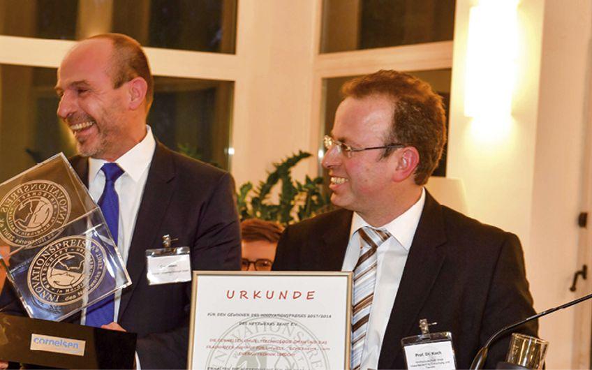 Essener Wirtschaftsförderungsgesellschaft: Preis für Cornelsen Umwelttechnologie