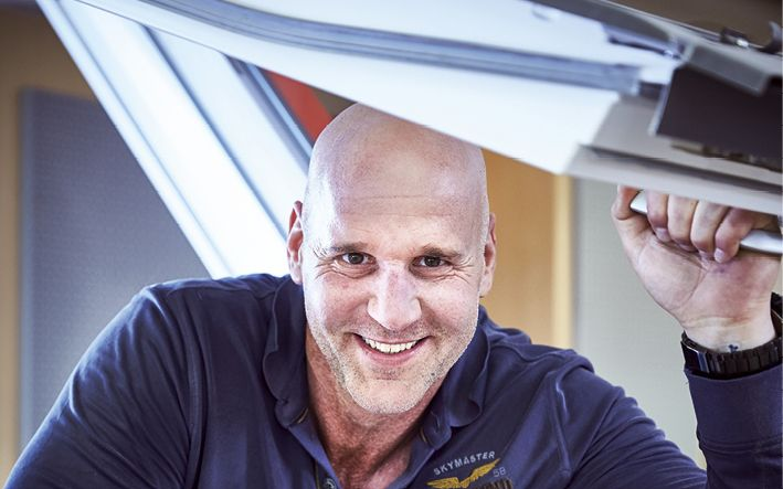 Geschäftsführer Marcus Kessel ist Handwerker aus Überzeugung (Foto: © Alexandra Höner)