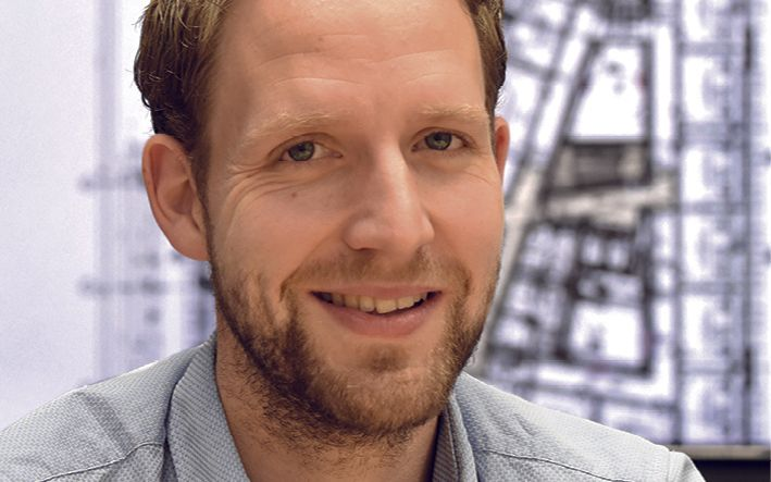 Christian Kusenberg, Leiter der Inneren Verwaltung der PVS holding GmbH Foto: Gerd Lorenzen