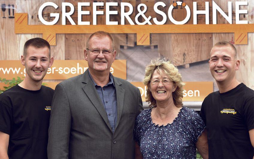 Industrieverpackung Grefer & Söhne: Industrieverpackung weltweit aus Oberhausen