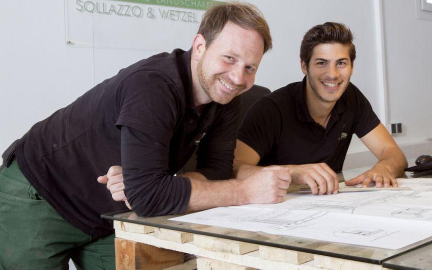 Sollazzo und Wetzel: Mit Vertrauen zur grünen Ruheoase
