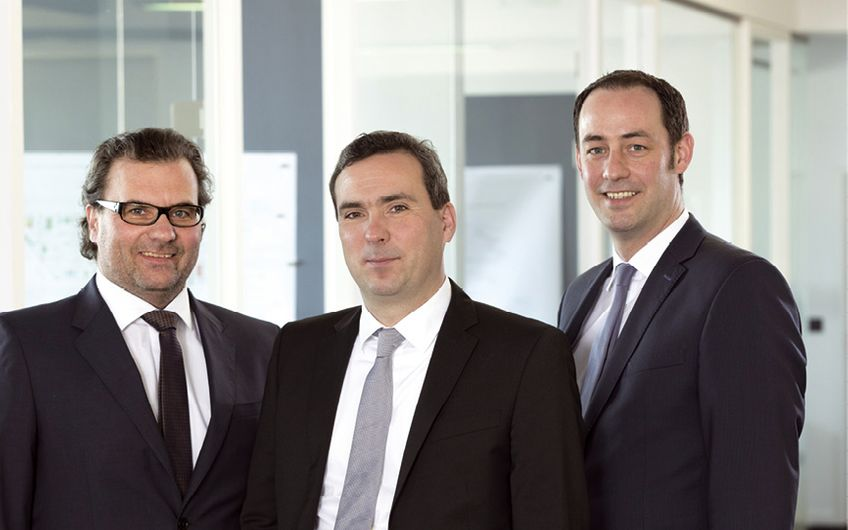Andreas Tholl, Christoph Tholl und Marcus Hoffmann (v.l.)