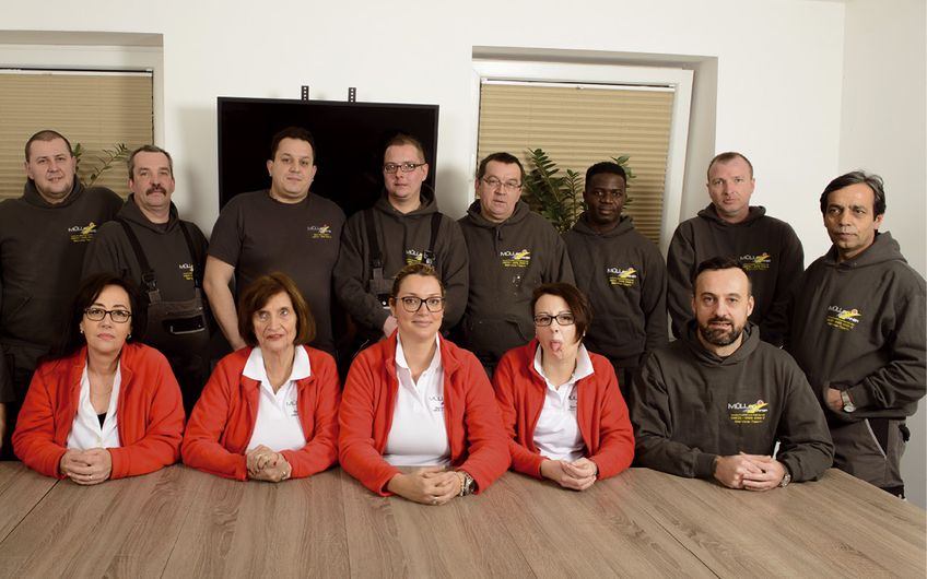Das Team von Müller Container