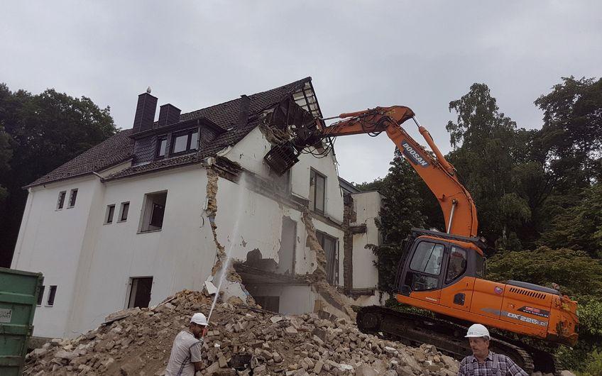 Abbrucharbeiten in Düsseldorf