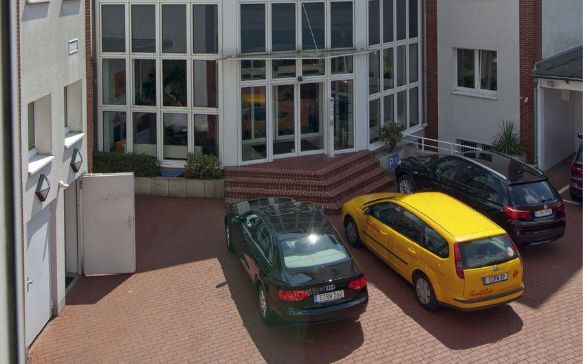 Die Firmenzentrale an der Lazarettstraße in Essen
