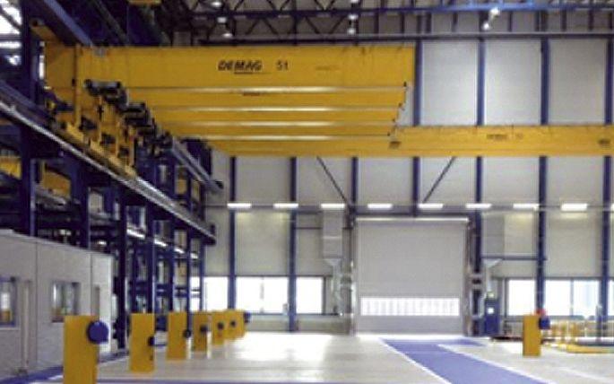Hallenerweiterungsbau SMS Meer, Mönchengladbach