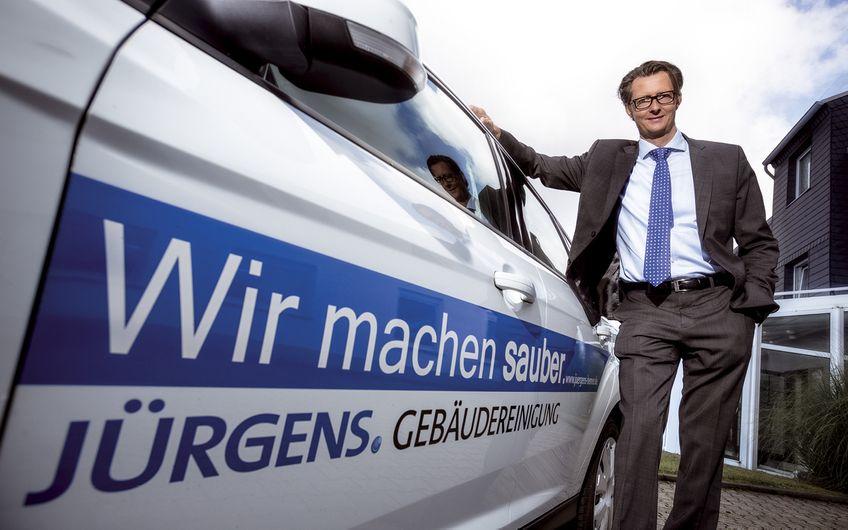 Geschäftsführer Andreas Weber setzt auf Qualität
