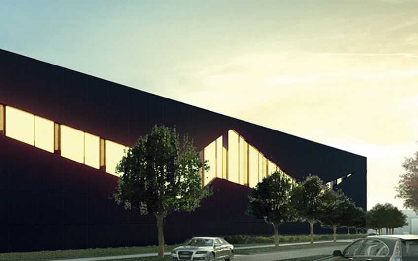 Industriegebäude Wiesbaden