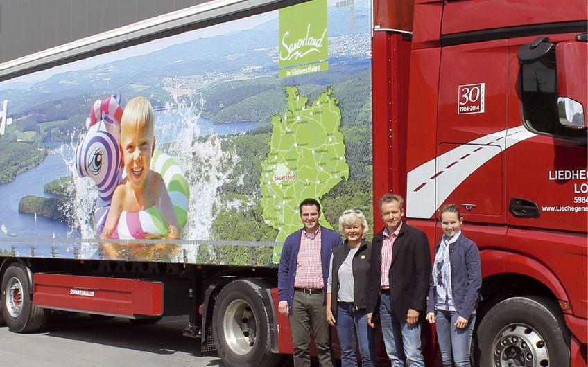 Sauerland-Seen  auf Deutschlandtour