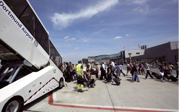 Vom Flughafen Dortmund abheben