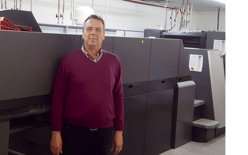 Neue Druckmaschine angeschafft