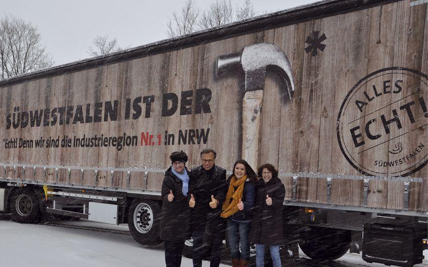 """Südwestfalen Agentur GmbH: 14. """"rollender Botschafter"""" der Region nimmt Fahrt auf"""