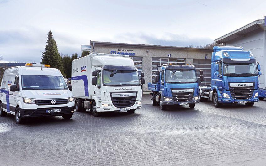 BFS Bremsen- und Fahrzeug-Service: Für DAF im Einsatz