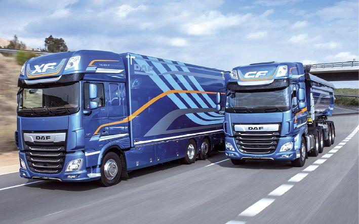 """Die  neuen Baureihen von DAF wurden zum  """"International Truck of the Year 2018"""" gewählt."""