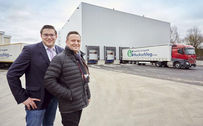Spedition Huckschlag: Logistik ist Leidenschaft