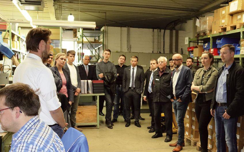Wirtschaftsjunioren Lüdenscheid: Zu Gast in Halver