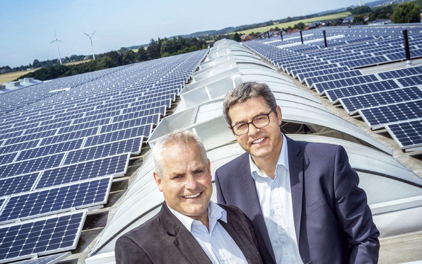 Die Brüder Thomas und Dieter Röttger (v.l.) führen die ENTEGRO Photovoltaik-Systeme GmbH gemeinsam Foto: Christoph & Thomas Meinschäfer