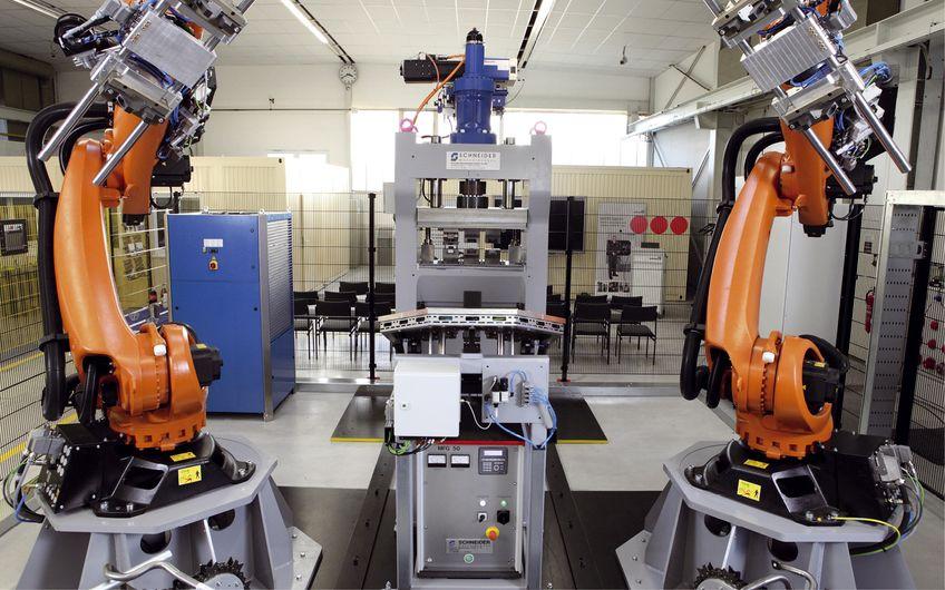Schneider Maschinenbau: Automatisierung und Rationalisierung