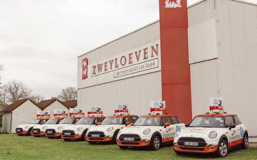 Firmensitz der ZWEYLOEVEN Werbeproduktion in Nottuln